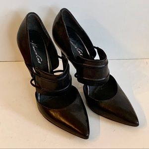 Like New Kenneth Cole Black Pumps